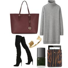 A fashion look from October 2013 featuring ribbed turtleneck top, stretch over the knee boots and burgundy tote bag. Browse and shop related looks. Ribbed Turtleneck, Over The Knee Boots, Burgundy, Fashion Looks, Turtle Neck, Tote Bag, Simple, Polyvore, Bags