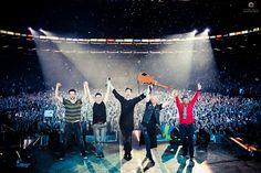 Awwww the last date I did. London, o2 Arena 23/03/2013 #Script3ArenaTour