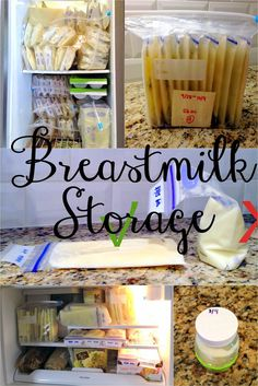 Live and Learn: Baby 101: Breastmilk Storage