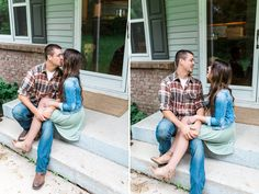 KendaDenaultPhotography+GrandRapidsEngagement  Home engagement photos