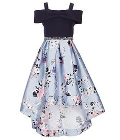 Shop for Xtraordinary Big Girls Cold-Shoulder Solid/Floral Ballgown at Dill. Shop for Xtraordinary Big Girls Cold-Shoulder Solid/Floral Ballgown at Dillard& Visit Dillard& to find clothing, accessories, shoes, cosmetics & more. The Style of Your Life. Girls Fashion Clothes, Teen Fashion Outfits, Women's Fashion Dresses, Girl Fashion, Girl Outfits, Fashion Ideas, Clothes For Girls, Fashion Fashion, Preteen Fashion
