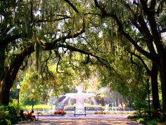 Savanah, Ga My favorite city in the US. Going back for my honeymoon in 1 1/2 yrs