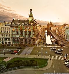 St.Petersburg, Russia. Dom Knigi, one of my favorite places in St. Petersburg!