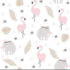 Cute Animal Photos, Cute Animal Videos, Cute Animals Puppies, Flamingo Wallpaper, Cute Animal Illustration, Vector Hand, Vector Vector, Baby Cartoon, African Animals