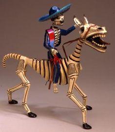 Mexican Folk Art Dia de Los Muertos
