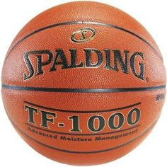 Spalding Basketball Ball - 74-733E TF 1000 NHFA Approved Size 7 Basketball