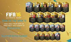 #FUT 16 #TOTW 13 (Team of the Week) incl. Karim Benzema, Thiago Silva & TIF Riyad Mahrez! Full team: http://www.ultimateteam.co.uk/2015/12/09/fut-16-totw-13/