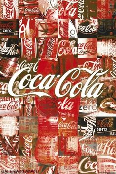 Coca Cola, the worlds most famous soda. The true masters of advertising and marketing, almost everybody has heard of or at least drank Coca Cola. They're logo can be recognized all around the world. Coca Cola Poster, Coca Cola Ad, Always Coca Cola, World Of Coca Cola, Coca Cola Vintage, Vintage Ads, Vintage Logos, Poster Vintage, Sodas