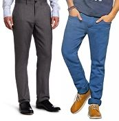 Flat 15% Extra Off on Men Trousers and Chinos - Hot Shopping Offers & Deals