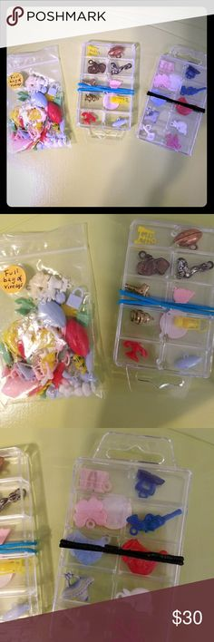 Large lot of vintage charms Great lot of the old charms from years ago! So many different charms in this lot! Bundle w my other items for your best deal! #dogwalker1 #bundle #charms #vintage #vintagecharms #crafts #art #collectibles #toys #airplane #boxing #cars #binoculars Other