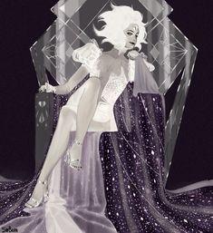 White Diamond Steven Universe, Steven Universe Gem, Universe Art, Character Concept, Character Art, Steven Univese, Cartoon Tv, Art Blog, Female Art