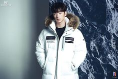 Seo Kang Jun, Most Handsome Men, Adidas Jacket, Rain Jacket, Windbreaker, Winter Jackets, Singer, Actors, Athletic
