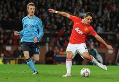 Manchester United 1-2 Ajax Amsterdam on February 23, 2012 Manchester United limped into a Europa League last-16 meeting with Athletic Bilbao after a 2-1 defeat by Ajax at Old Trafford left them clinging on to a 3-2 aggregate success