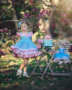 La Amapola Dress by Irina Chernousova on Cute Little Girl Dresses, Dresses Kids Girl, Girls Party Dress, Cute Girl Outfits, Cute Little Girls, Flower Girl Dresses, Kids Dress Wear, Baby Dress, Toddler Fashion