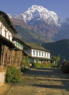 Ghundruk village situated at the foothills of Annapurna. - Did 9 days trekking in the foothills.  One of the best experiences of my life!