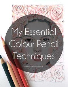 Lane Williams' essential colour pencil techniques