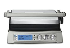 The Cuisinart GR-300WS electric automobile griddle has a considerably large cookery surface to ensure that you can get the work done within the shortest time possible. It also has so many beautiful lineaments