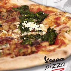 Vespa Pizza - Di Magro pizza | Rendeld meg most a LeFoodon, Házhozszállítással, online, másodpercek alatt: http://lefood.hu/vespapizza | paradicsomszósz, mozzarella, spenót, ricotta, vargánya | EN: tomato sauce, mozzarella cheese cheese, spinach, ricotta, flap