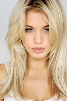 darker roots blonde hair | long brown curls long hair style collections prepare your hair looks ...