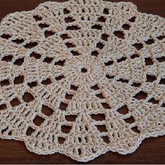 Best 12 ONE Crochet Earrings Pattern, PDF File – Crochet Wedding Earrings – PDF, easy pattern for beginners – SkillOfKing. Crochet Coaster Pattern, Crochet Edging Patterns, Crochet Designs, Crochet Round, Crochet Squares, Crochet Home, Crochet Dollies, Crochet Flowers, Crochet Decoration