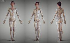 Alita: Battle Angel Concept Art by Vitaly Bulgarov Character Inspiration, Character Art, Character Concept, Inspiration Artistique, Battle Angel Alita, Arte Robot, Robot Art, Arte Cyberpunk, Robot Concept Art