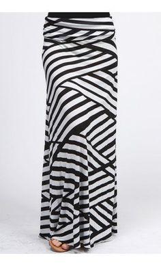 Womens Swirl Striped Maxi Skirts Restocked! - Apostolic Clothing #modest #swirls #clothing