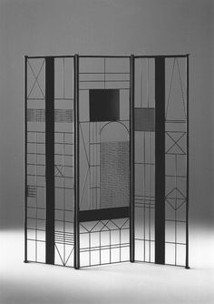 Paravento - design by Bruno Munari - 1991