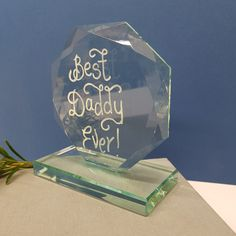 Excited to share the latest addition to my #etsy shop: Personalised Glass Trophy, Jade Glass Award, Hand Engraved Crystal Plinth, First Prize, Gift Boxed, Fathers Day Gift, Corporate Award Prize #glasstrophy #crystalaward #corporateprize #firstprizetrophy #crystalplinthprize #personalisedtrophy #handengravedglass http://etsy.me/2GeUGpw