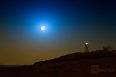 #Superluna sobre el faro