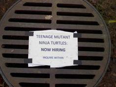 manhole cover recruitment marketing