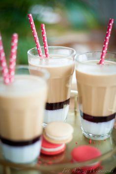 Strawberry iced coffee