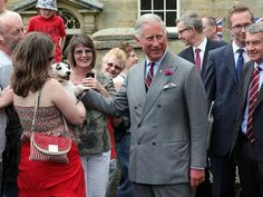 The Prince Of Wales pays a visit to Abbeyfield in Warkworth