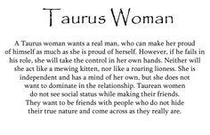 Taurus women