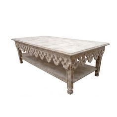 Carved Apron Coffee Table