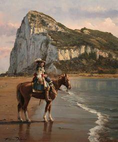 Ferrer-Dalmau (Augusto Ferrer-Dalmau Nieto - Last Spanish Governor of Gibraltar, Don Diego de Salinas Utrecht, Military Art, Military History, Spanish Heritage, Baroque Painting, Seven Years' War, Modern Artwork, 17th Century, Continents