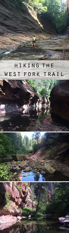 Hiking the West Fork Trail in Sedona, AZ