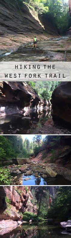 Hiking the West Fork Trail in Sedona, AZ
