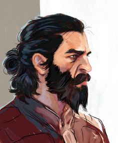 Dragon Age: Inquisition - Blackwall, by stonelions on Tumblr