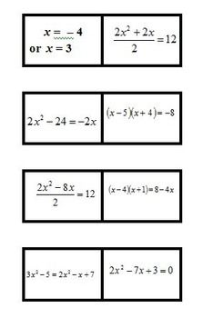 Factoring Polynomials Puzzle from Just Mathematics on ...