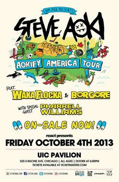 AOKIFY America Tour by DJ Steve Aoki Is Almost SOLD-OUT Get Your Discount Steve Aoki Tickets Belowjkjkj