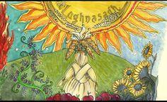Lughnasadh o Lammas 2015 ~ 1 de agosto Celtic Festival, Fire Festival, Wiccan Magic, Pagan, Celtic Calendar, Solstice And Equinox, Celtic Culture, Asatru, Sabbats