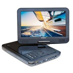 SYNAGY A10 10.1inch Portable DVD Player & CD Player