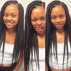 STYLIST FEATURE| In love with these #boxbraids done by #MiamiBraider @_BraidsByKate_❤️ So neat #VoiceOfHair