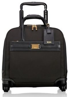 Tumi Larkin - Shannon 11-Inch Compact Nylon Wheeled Carry-On - Black