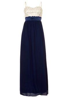 Little Mistress Blue Maxi Dress