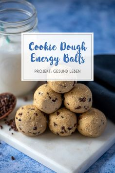 Protein Snacks, Vegan Snacks, Vegan Desserts, Healthy Sweets, Healthy Snacks, Sports Food, Energy Balls, Vegan Baking, Food Inspiration