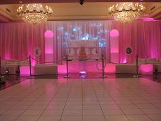 Pink Sweet 16 theme