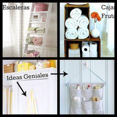 Ideas geniales para baños pequeños | Decorar tu casa es facilisimo.com