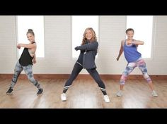 20-Minute Cardio Dance Workout From a Celebrity Trainer | Class FitSugar - YouTube