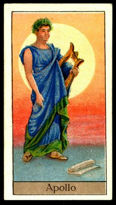 "https://flic.kr/p/kUNA9i | Cigarette Card - Apollo | Boguslavsky's Cigarettes ""Mythological Gods & Goddesses"" (series of 25 issued in 1924) #11 Apollo ~ Greek God of Music and Healing"